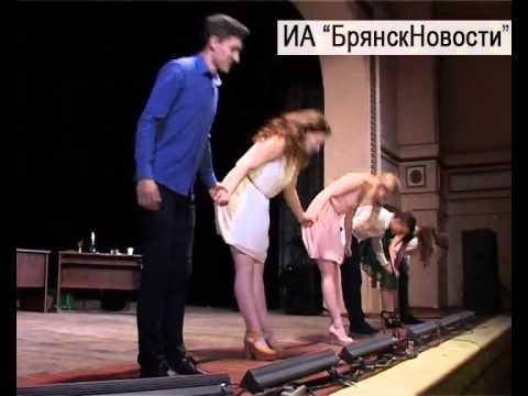 Новозыбков простился с 12-м Международным фестивалем молодежных театров «Славянский перекресток»