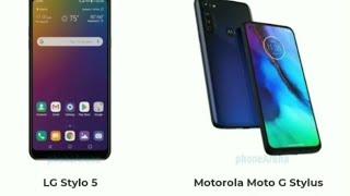 LG Stylo 5 vs Motorola Moto G Stylus
