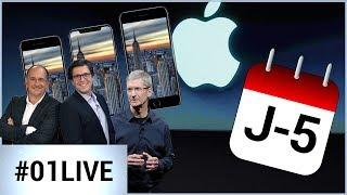 01LIVE HEBDO #153 : ce qu'on sait de l'iPhone à 5 jours de la Keynote