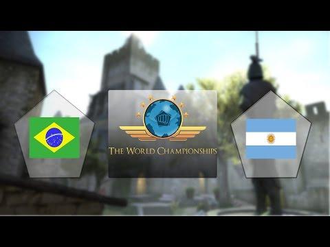 TWC 2016 - Argentina vs Brasil - BO5 - FINAL (Completo)
