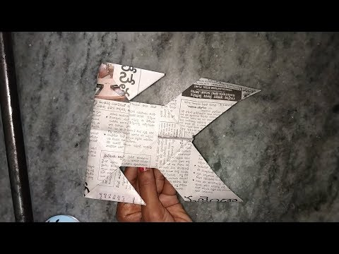 How to make ravana with paper (part-1)
