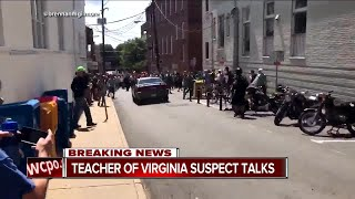 Charlottesville suspect was infatuated with Nazis, former high school teacher says