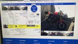 Как происходит покупка мотоцикла на аукционе в США. Мото техника из США.