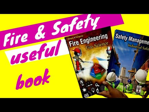 Fire And Safety Important Books / Industry Safety And Fire Safety Book / Safety MGMT STUDY