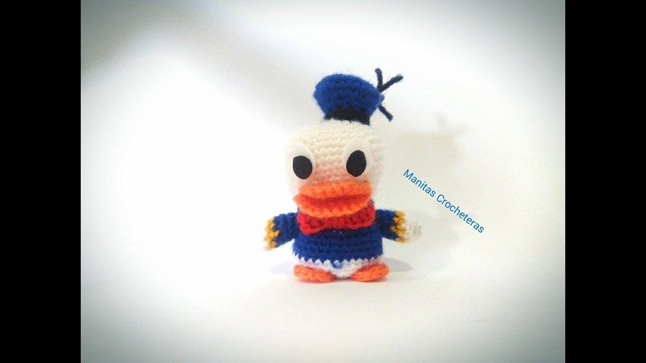 Amigurumi Duck Tutorial : Donald amigurumi tutorial youtube