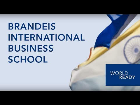 Brandeis IBS - Master of Arts in International Economics and Finance (MA) Program