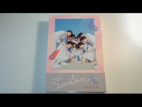 ♡Unboxing Seventeen 세븐틴 1st Studio Album First Love & Letter (Love Version)♡
