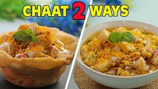 Easy Aloo Chaat Recipe | Quick Chana Chaat Recipe By SooperChef (Ramzan Special Recipe)