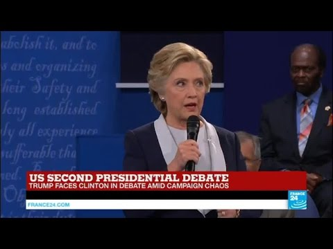 """Hillary Clinton: """"Donald Trump insults women, and has also targeted immigrants, African-Americans..."""