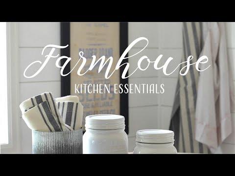 Top Ten Farmhouse Kitchen Essentials