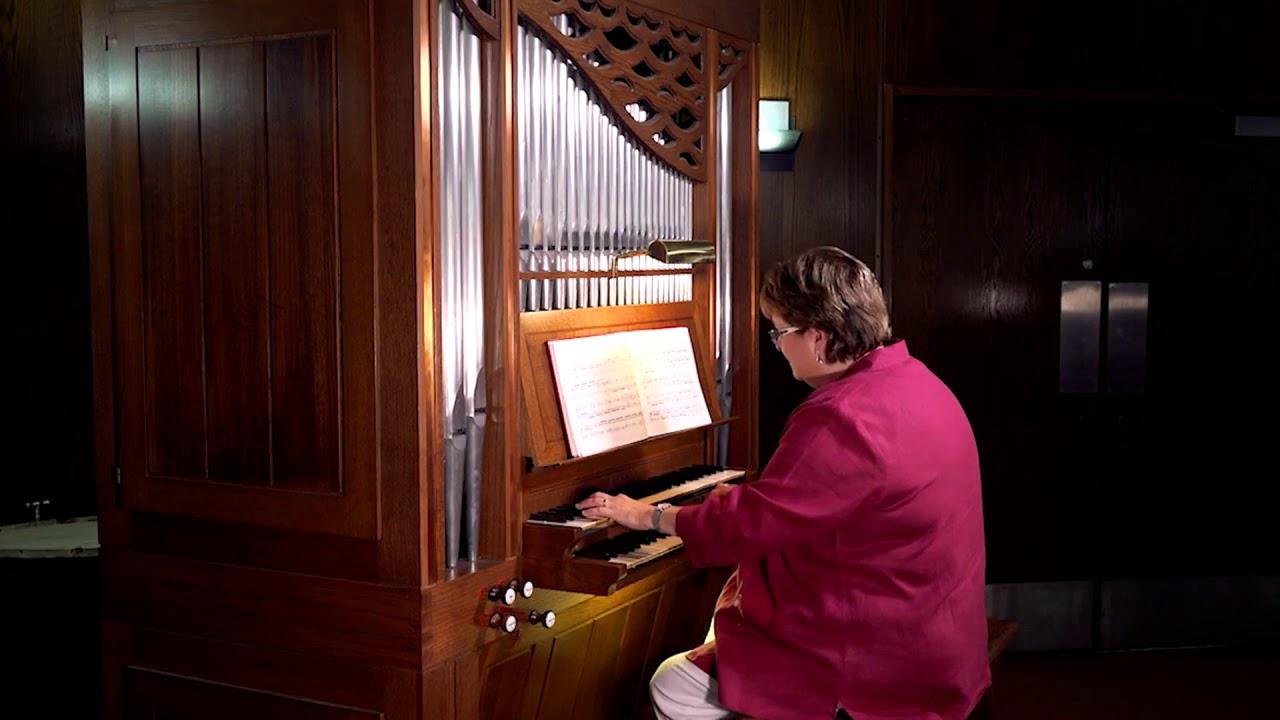Organ-ic!  - Basse et Dessus de Trompette by Louis N. Clérambault - Velda Graham Bell, Organ