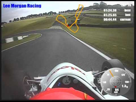 Onboard from Cadwell Park Formula Jedi race 1 - Lee Morgan