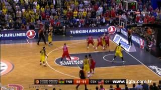 Ekpe Udoh Turkish Airlines Euroleague Final Harika Smaç - Fenerbahçe Ülker 96 - CSKA Moscow 101