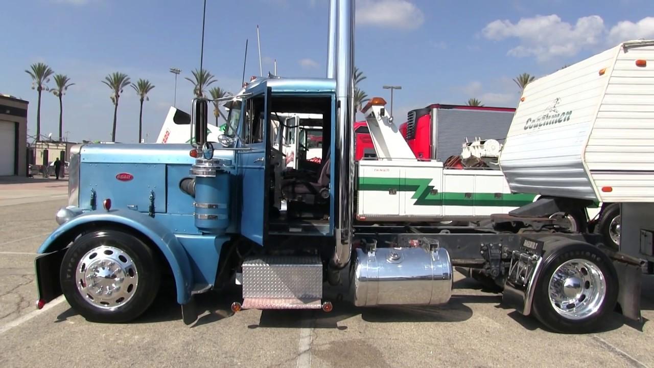 2-Axle 1956 Peterbilt 351 At Truckn' For Kids 2018