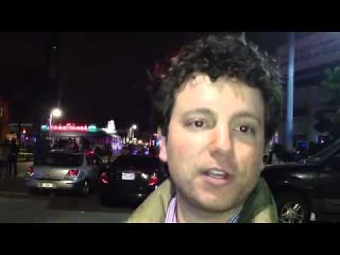 Globe reporter Moskowitz describes a chaotic scene in Watert