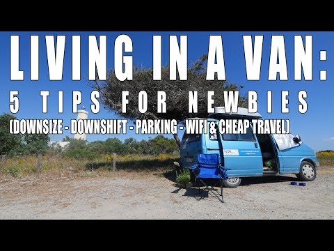 Vanlife: Five Tips for Newbies