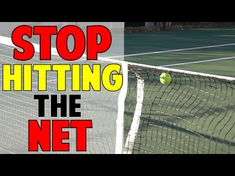 Thumbnail: How To Stop Hitting Into the Net In Tennis