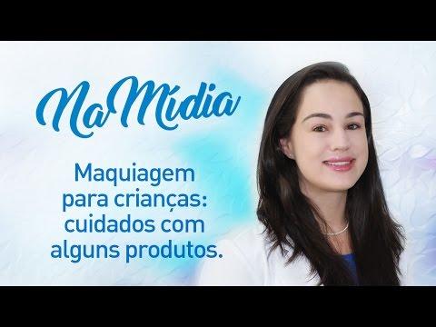 Maquiagem para crianças: cuidados com alguns produtos