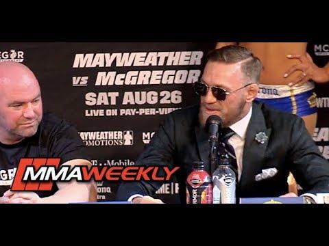 Conor McGregor Talks Future After Floyd Mayweather