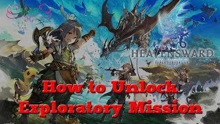 How to Unlock The Diadem via Ishgardian Airship [FFXIV Heavensward]