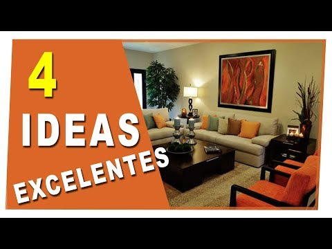 Tips para decorar tu sala 2018 youtube Como decorar un espejo para la sala