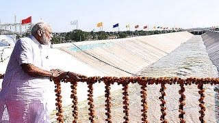 PM Modi at the launch of Pumping Station in Kutch Canal in Bhachau, Gujarat thumbnail