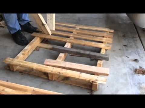 Learn The Best Ways to Dismantle a Pallet • Pallet Ideas