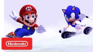 Mario & Sonic at the Sochi 2014 Olympic Winter Games Gameplay Trailer