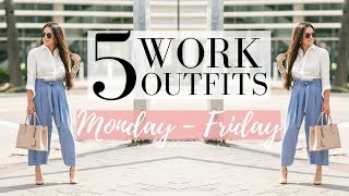 5 PETITE WORK OUTFIT IDEAS - Comfortable Outfits for the Office   LuxMommy