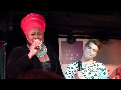 World Hunger Day Concert, Soho - Joe McElderry & Jumoke Fashola - One World One Song