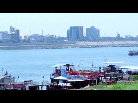 Phnom Penh City Sight-view Along the Mekong And Tonle Sab Rivers, Cambodia