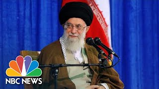 Ali Khamenei: President Donald Trump Will 'Will Turn Into Ashes And Food For Worms' | NBC News
