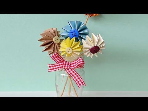 How To Make Colorful Paper Cake Toppers - DIY Crafts Tutorial - Guidecentral
