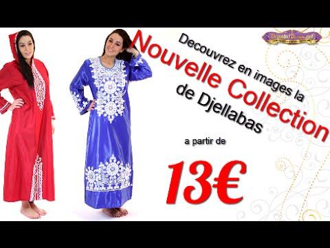 Robe Orientale - Dubai Design - Nouveauté Oriental Discount - YouTube 497957613a6