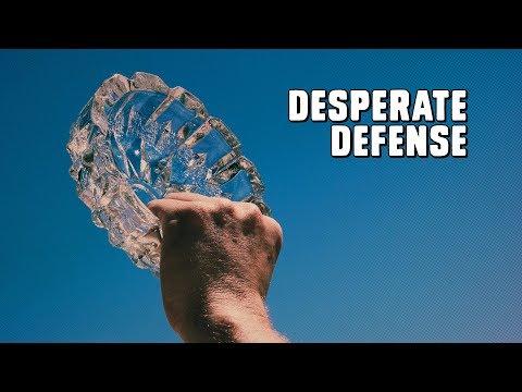 Desperate Defense: Glass Ashtray