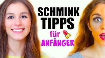 20 SCHMINKTIPPS FÜR ANFÄNGER ♡ BarbieLovesLipsticks