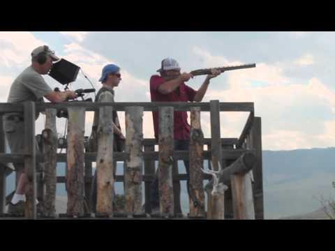 Robert Taylor (Walt Longmire) Skeet Shooting