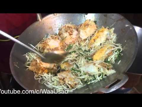 Street Food – 8 HD – Pad Thai Ckeak Kloye – Huge Pork Balls – BBQ
