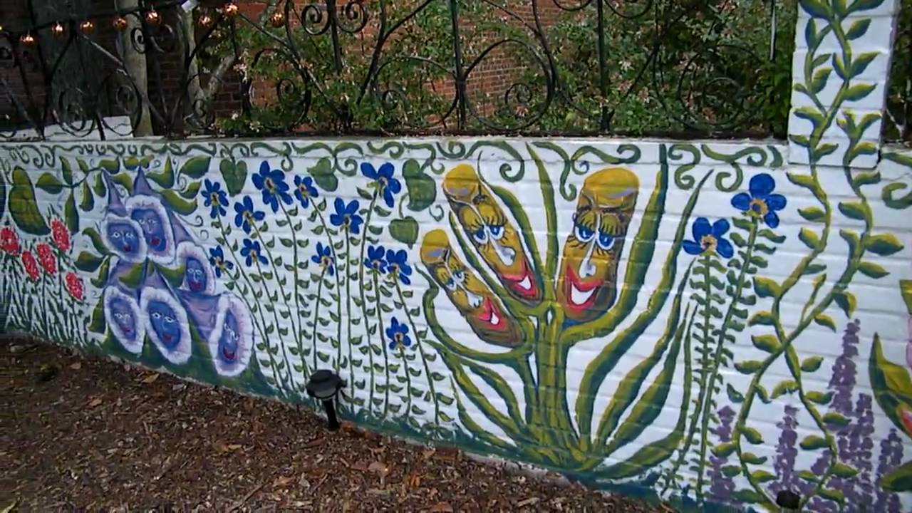 Fence Mural Eye Of The Eagle Art Youtube