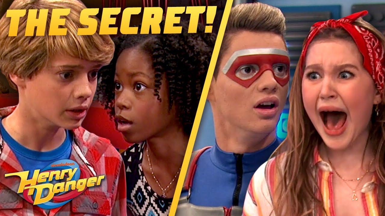 Download EVERY TIME Kid Danger's Secret Is Revealed! Henry Danger