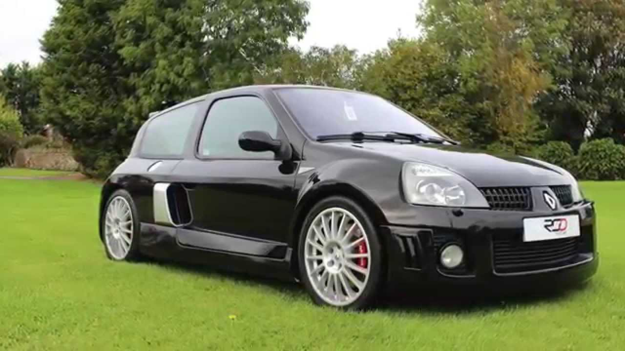 renault clio 3 0 v6 sport 255 for sale wanted youtube. Black Bedroom Furniture Sets. Home Design Ideas