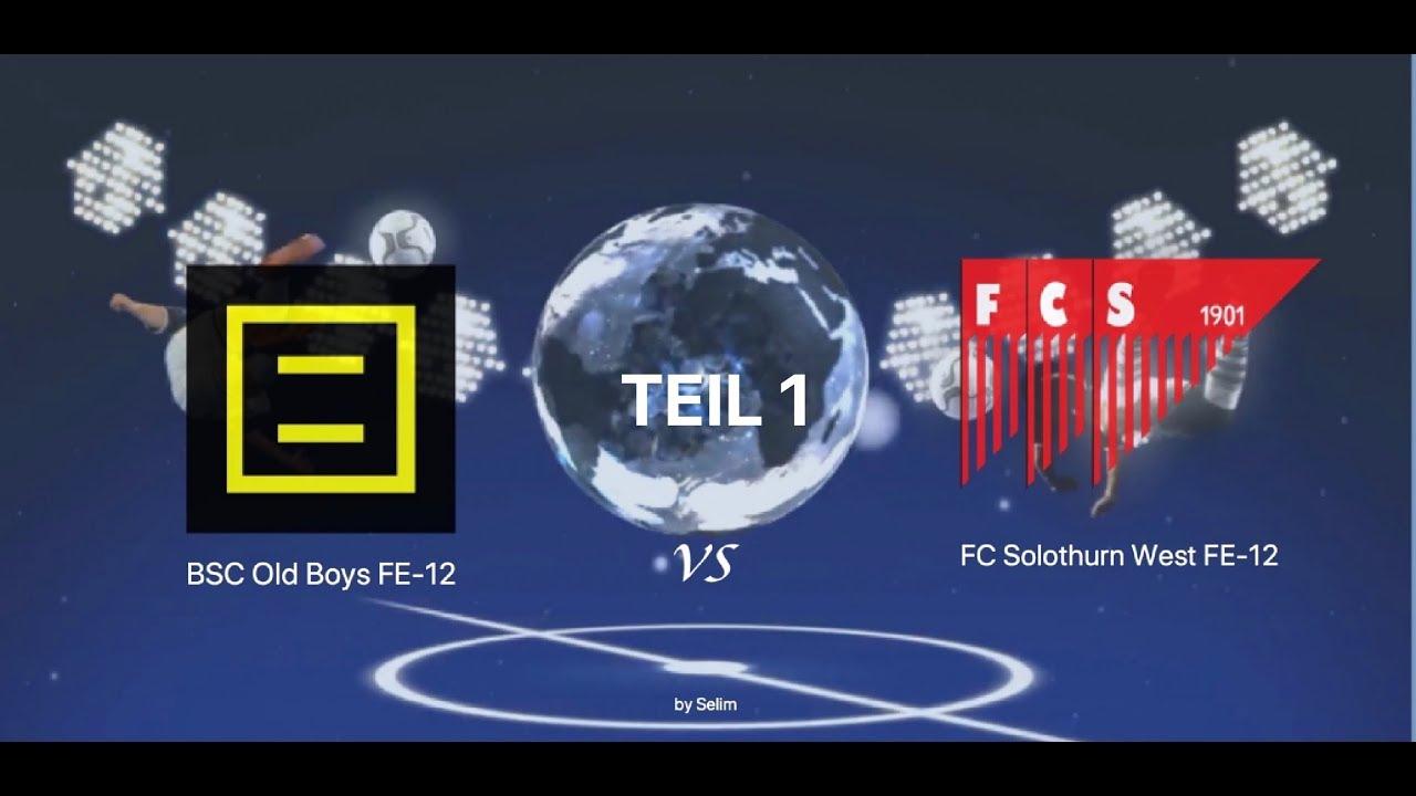 Download BSC Old Boys FE-12 vs FC Solothurn West FE-12