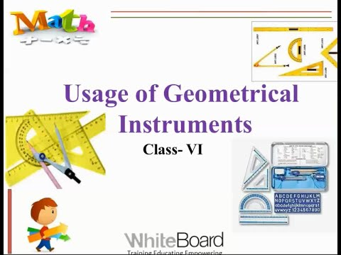 Class - 6 Maths - Usage of Geometrical Instruments