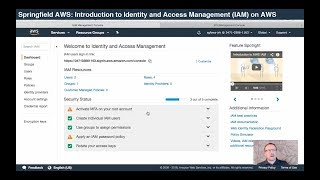 Video Intro to Identity and Access Management (IAM) on AWS download MP3, 3GP, MP4, WEBM, AVI, FLV Juni 2018