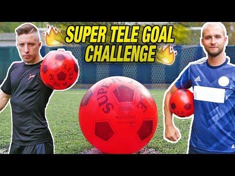 SUPER TELE GOAL CHALLENGE - Impossibile Pararla??