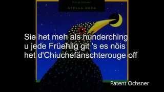 W. Nuss vo Bümpliz  Patent Ochsner Lyrics