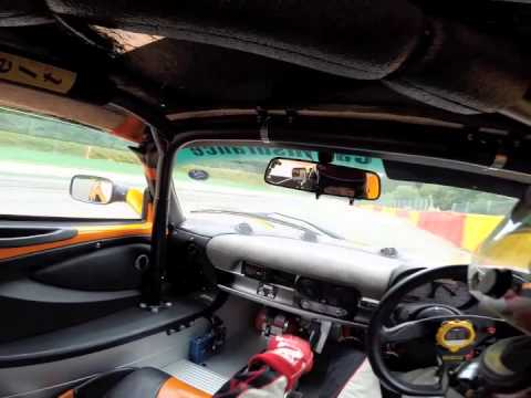 Lotus Cup UK Spa 2014 - Onboard with Stu Ratcliff & Anthony Dunn