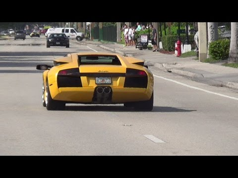 LOUD Supercars Full Speed Acceleration: Best sounds Aventador Huracan Gallardo Ferrari McLaren