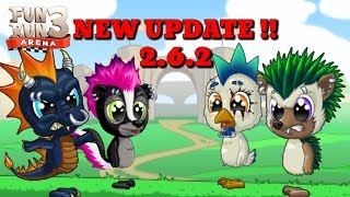 FUN RUN 3 2.7 ! NEW UPDATE , NEW ANIMALS, NEW MAP !
