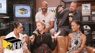 'Westworld' Cast Tease Season 3's 'Humanity' & Talk Superhero Auditions  | MTV News